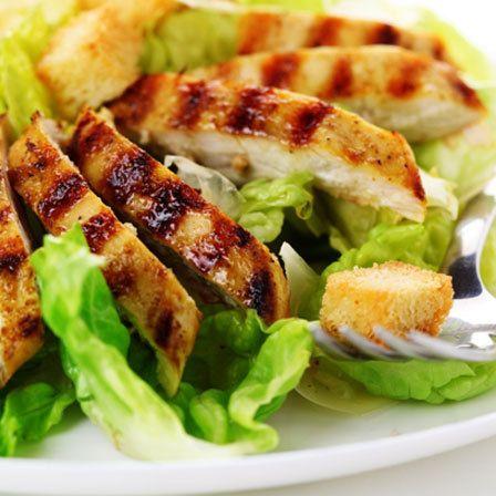 Fácil salada de frango grelhado