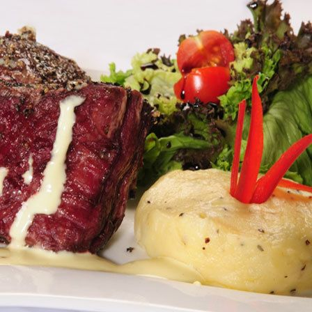 Salada Filet Mignon