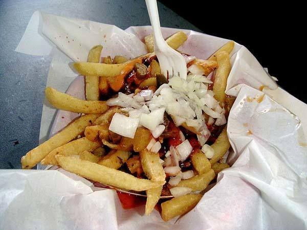 Comidas fritas