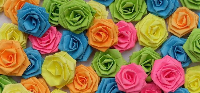 Top 10 Paper Roses mais bonitas Photo