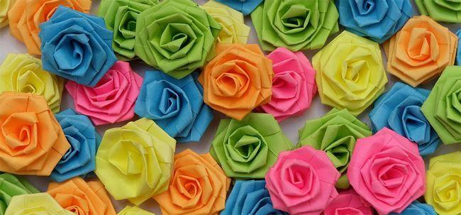 Top 10 Paper Roses mais bonitas Photo
