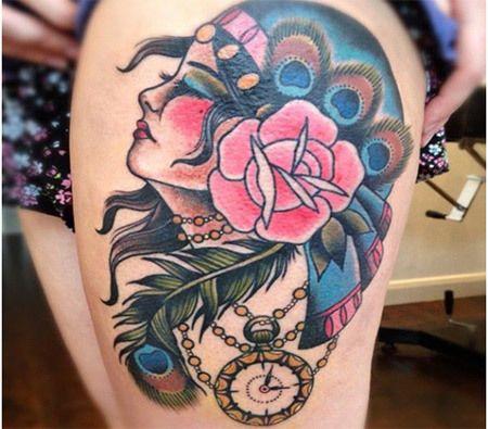arte da tatuagem cigana