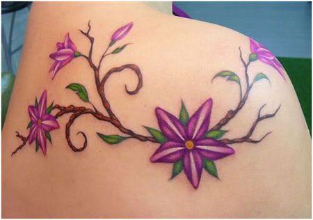 desenhos tatuagem de flor