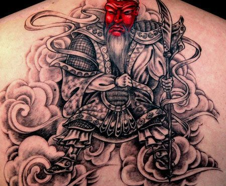 Top 10 Samurai Tattoo Photo