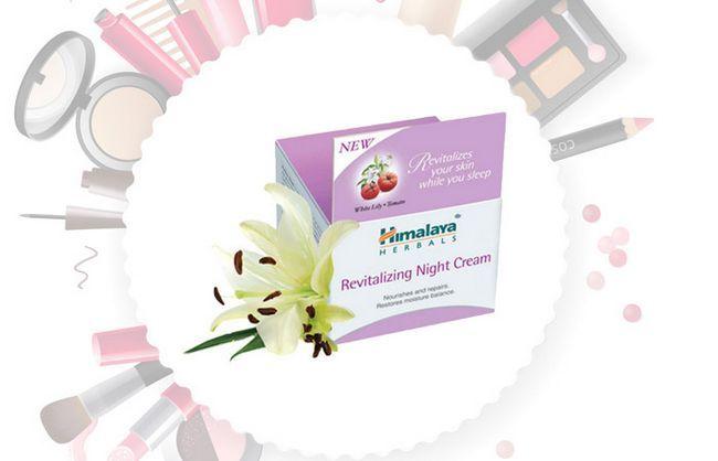 Creme Himalaya Herbals Revitalizante Noite
