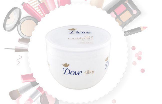 Creme Dove Silky Nutrição Corpo