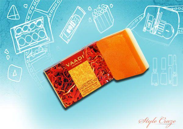 Vaadi Herbals Soap Saffron Luxurious