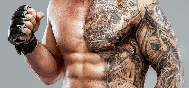 Os 10 projetos de estômago tatuagem Photo