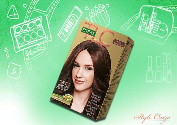 streax mogno marrom 4,56 cor do cabelo