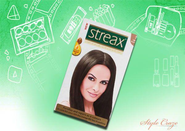 streax castanho claro 5 cor de cabelo
