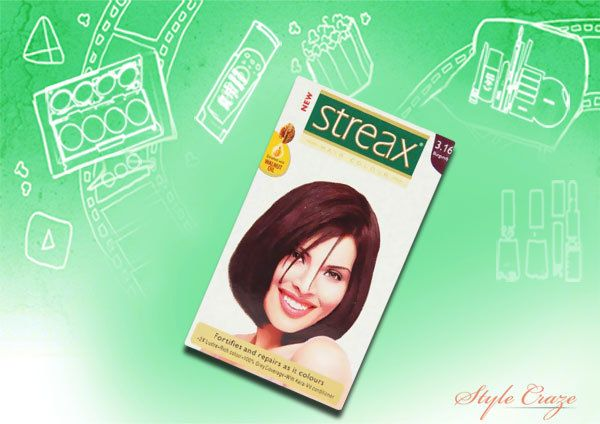 streax Borgonha cor 3,16 cabelos