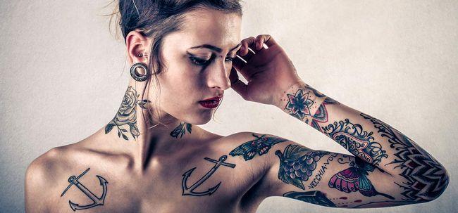 Top 10 Penetrante Depictions tatuagem Photo