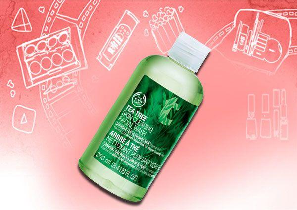 The Wash Facial Tree Oil Body Shop Tea