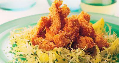 Salada morna da galinha do sésamo