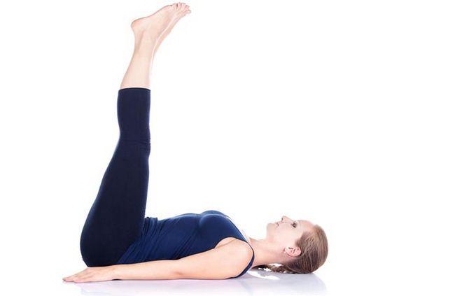 Levantou pé pose yoga