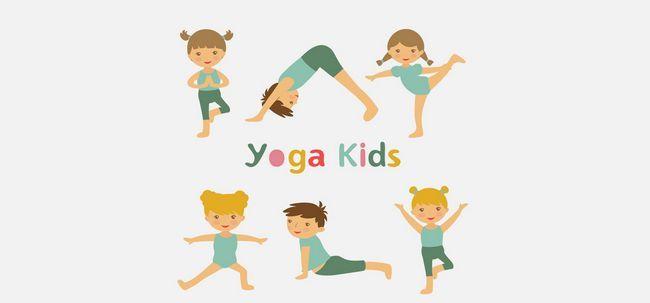 Os 10 vídeos Yoga para crianças Photo
