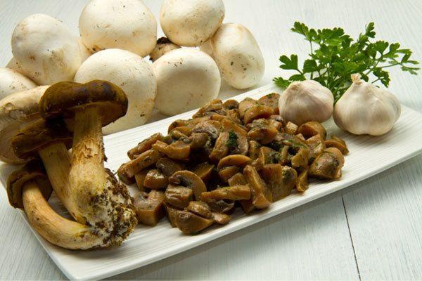 alho cogumelos