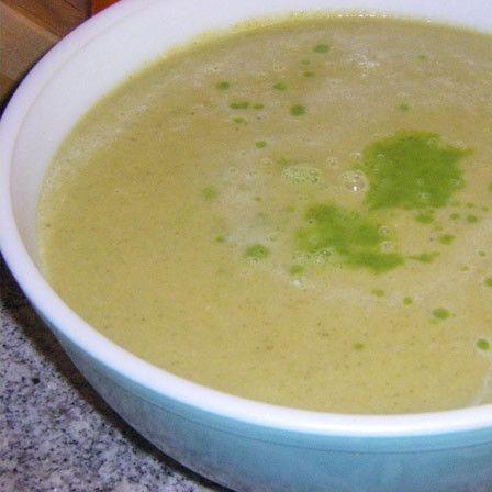 sopa de aipo