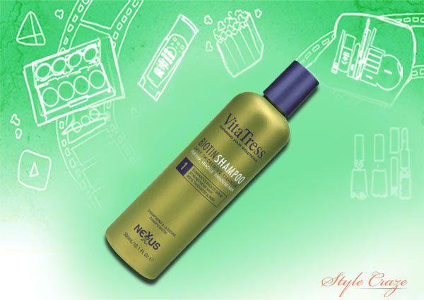 Nexxus vitatress shampoo biotina