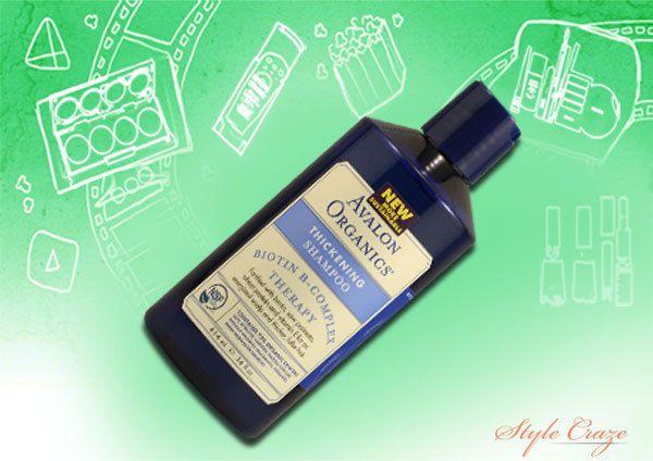Avalon shampoo orgânicos espessamento