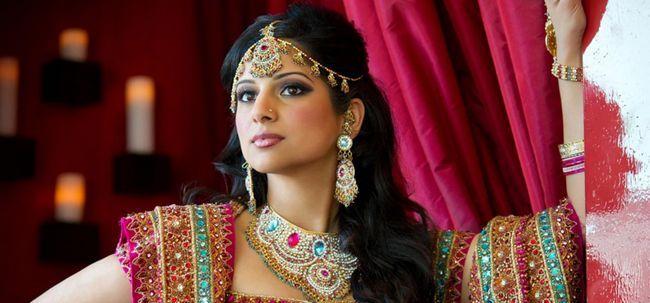 Pacotes de noiva de maquiagem da top 5 Keya Seth Photo