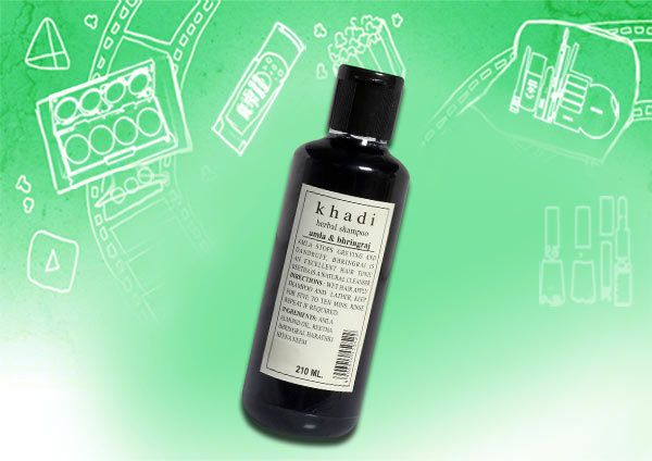 Khadi ervas amla & shampoo bhringraj