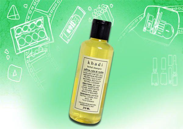khadi ervas tulsi açafrão & shampoo reetha