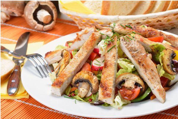 Salada Turquia Crunchy