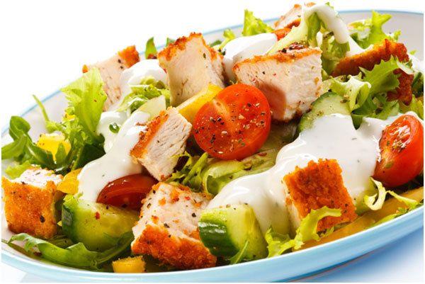 Cajun Turquia Salad