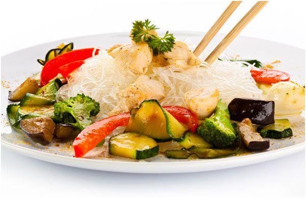 Asian Salada Turquia Inspirado