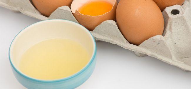 Quais são os benefícios de saúde e valor nutricional de Clara de ovo? Photo