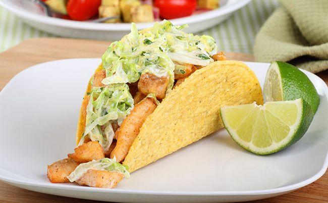 Tacos de peixe