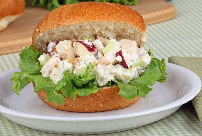 Chicken-salada-sanduíche