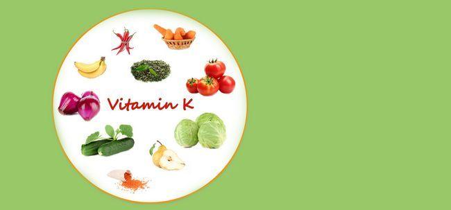 Deficiência de vitamina K - causas, sintomas e tratamento Photo