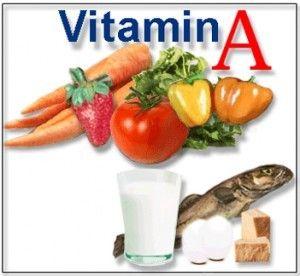 A vitamina A para unhas fortes