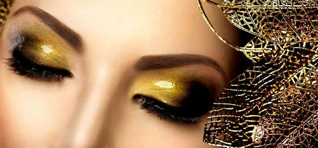 Querem adicionar algum drama a seu dia? Optar por Maquiagem Glitter Eye Photo