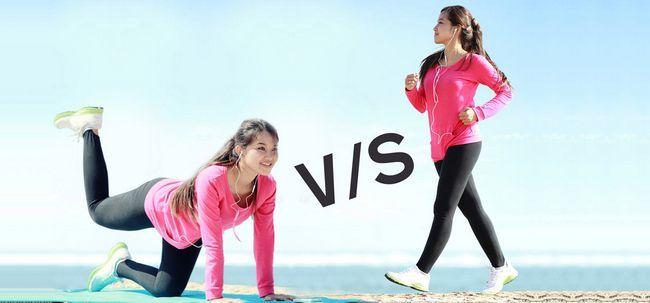 Quais são as diferenças entre Yoga e andando? Photo