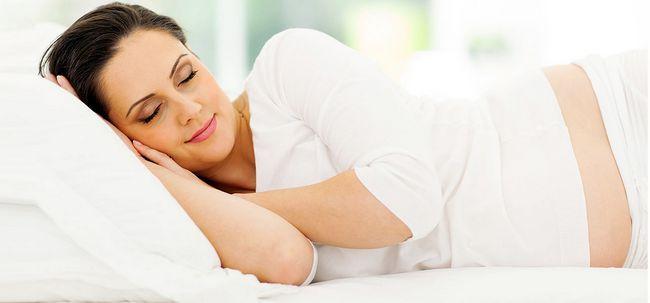 O que faz a sua pele fazer quando você dormir? Photo