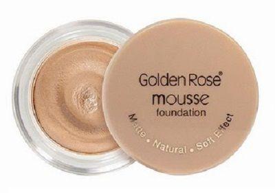 rosa dourada fundação mousse