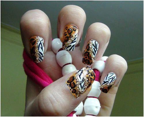limpar os vestígios de pintura de unhas